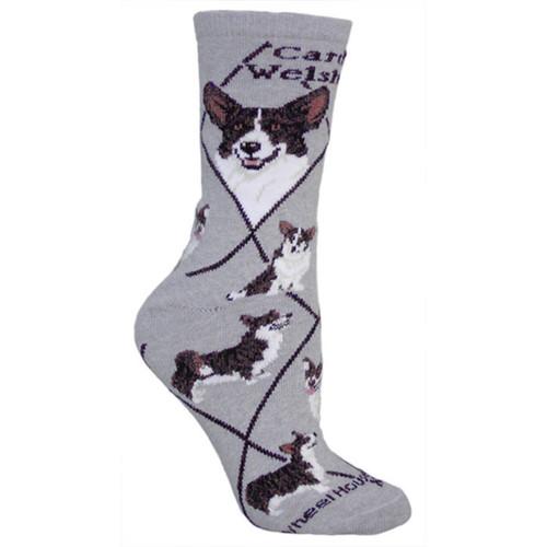 Wheel House Corgi Socks