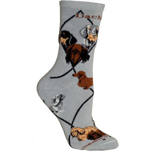 Wheel House Dachshund Socks