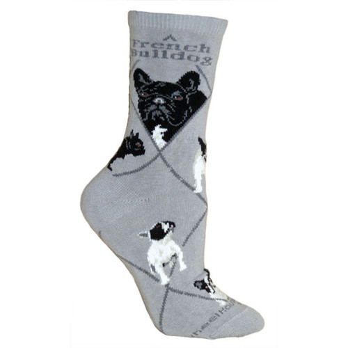 Wheel House French Bulldog Socks