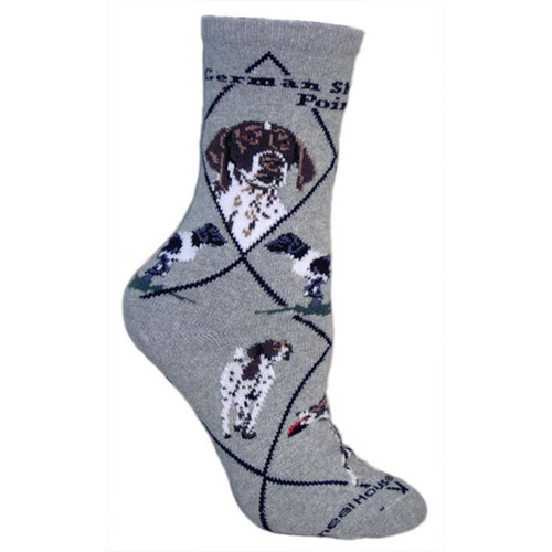Wheel House German Shorthaired Pointer Socks
