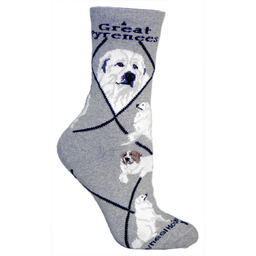 Wheel House Great Pyrenees Socks