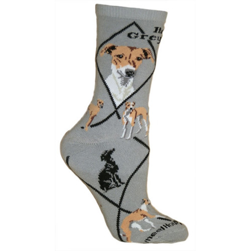 Wheel House Italian Greyhound Socks