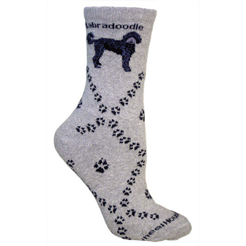 Wheel House Labradoodle Socks