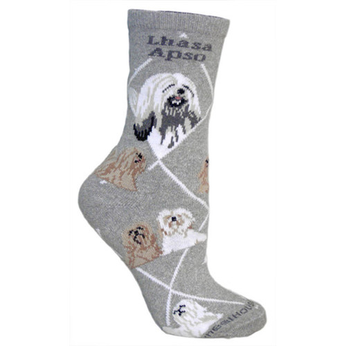 Wheel House Lhasa Apso Socks