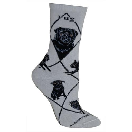 Wheel House Pug Socks