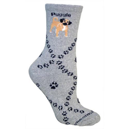 Wheel House Puggle Socks