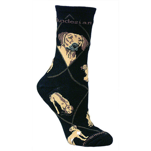 Wheel House Rhodesian Ridgeback Socks