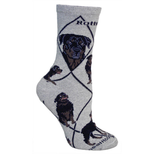 Wheel House Rottweiler Socks