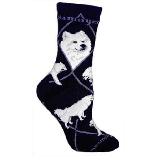 Wheel House Samoyed Socks