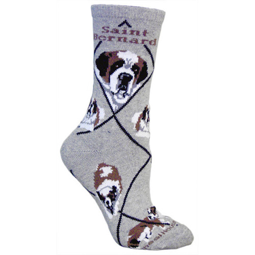 Wheel House Saint Bernard Socks