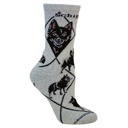 Wheel House Schipperke Socks