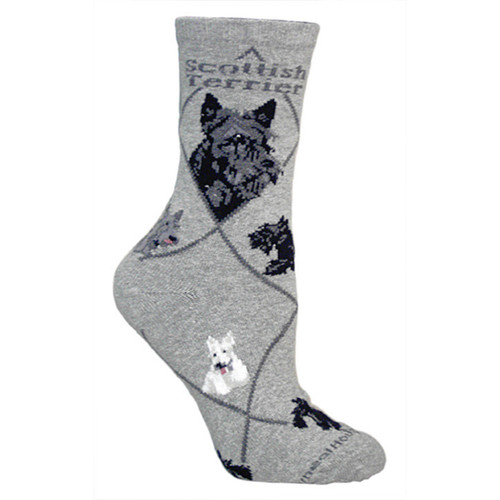 Wheel House Scottish Terrier Socks