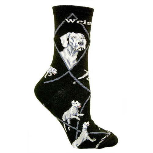 Wheel House Weimaraner Socks