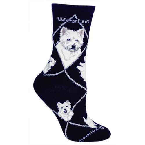 Wheel House Westie Socks
