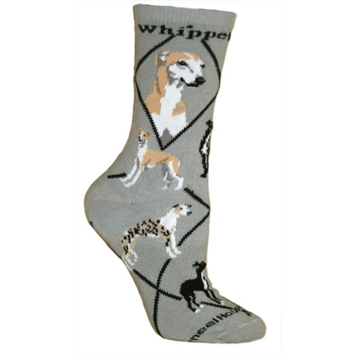 Wheel House Whippet Socks