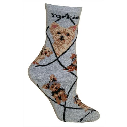 Wheel House Yorkie Socks