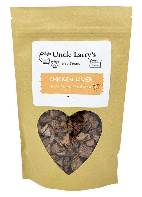 Uncle Larry's Chicken Liver Treats front