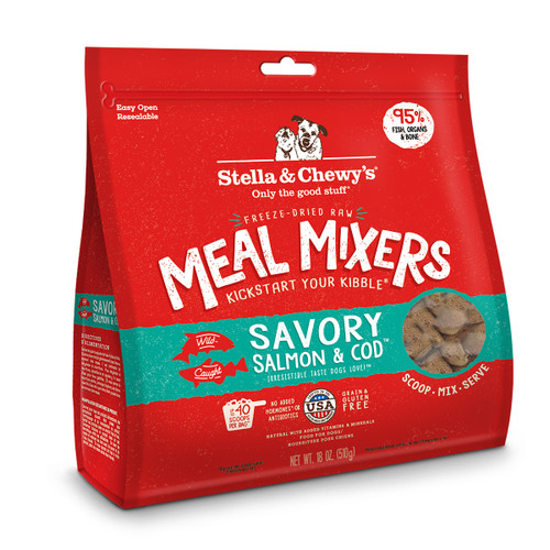 Stella & Chewy's Salmon & Cod Meal Mixer