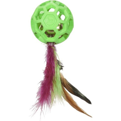 JW Pet Co. Cataction Feather with Bell