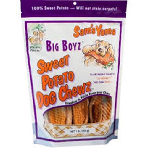 Sam's Yams Big Boyz Sweet Potato Dog Chewz