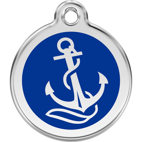 Red Dingo Enamel Anchor