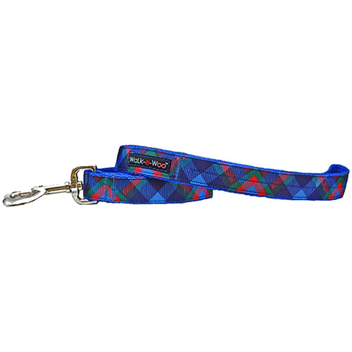 Walk-E-Woo Royal Plaid Lead