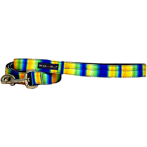 Walk-E-Woo Tie Dye - Blue & Green Lead
