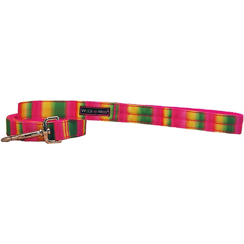 Walk-E-Woo Tie Dye - Pink & Green Lead