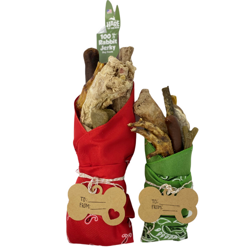 Holiday Bark Bouquets