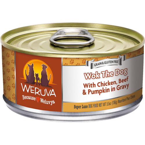 Weruva 5.5oz Wok The Dog