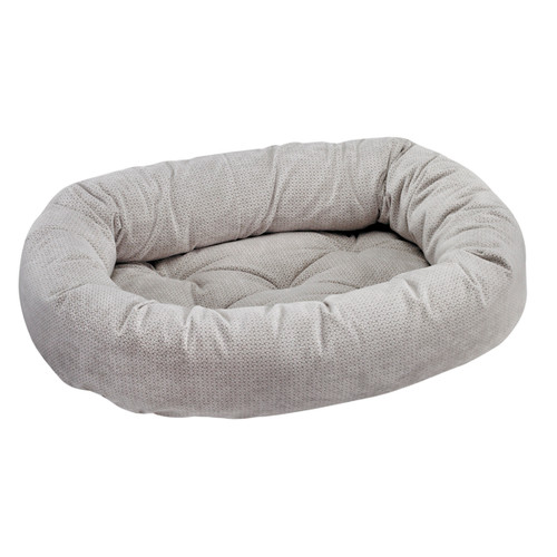 Bowsers Donut Bed - Silver Treats