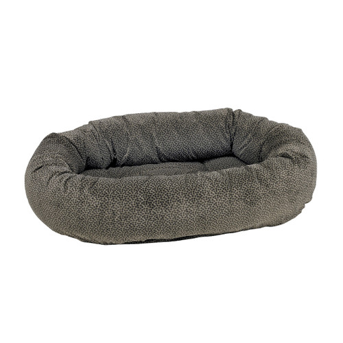 Bowsers Donut Bed - Pewter Bones