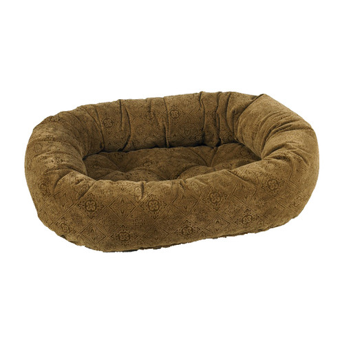 Bowsers Donut Bed - Pecan Filigree