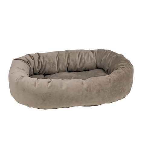 Bowsers Donut Bed - Pebble