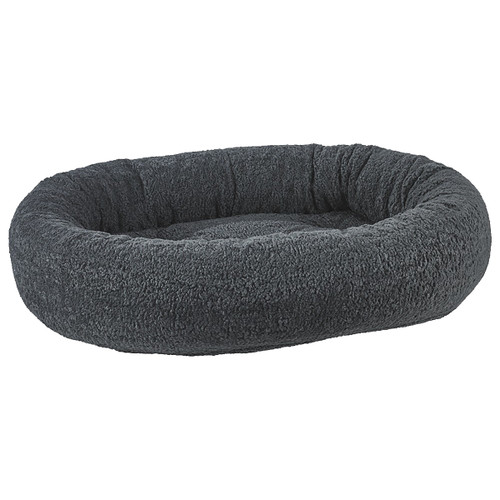 Bowsers Donut Bed - Grey Sheepskin