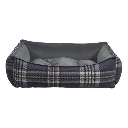 Bowsers Scoop Bed - Greystone Tartan