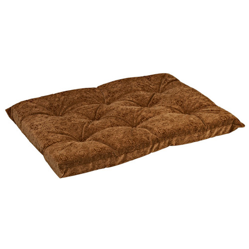 Bowsers Tufted Cushion - Pecan Filigree