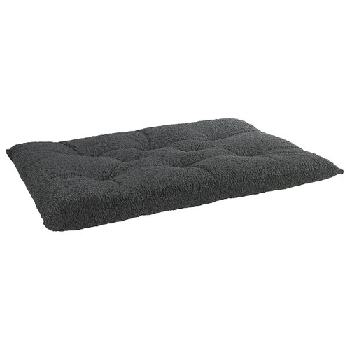 Bowsers Tufted Cushion - Grey Sheepskin