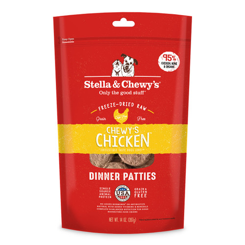 Stella & Chewy's Freeze-Dried Chicken Patties for Dogs