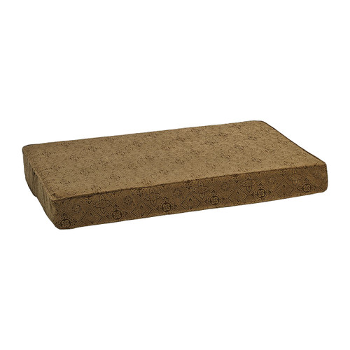 Bowsers Isotonic Memory Foam Mattress - Pecan Filigree