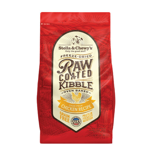 Stella & Chewy's Raw Coated Kibble - Cage-Free Chicken 22lb