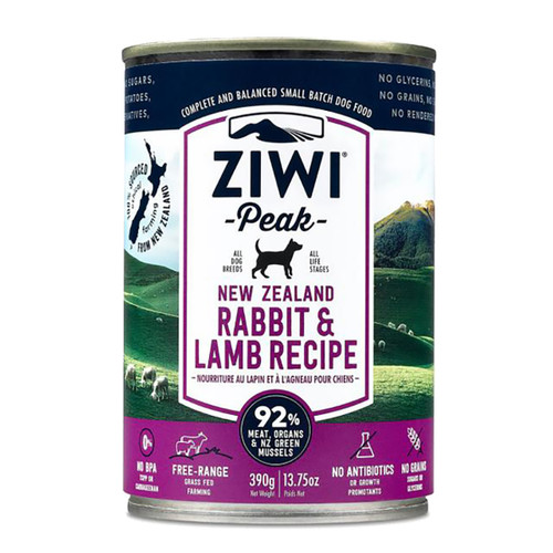 ZiwiPeak Rabbit & Lamb Canned Dog Cuisine