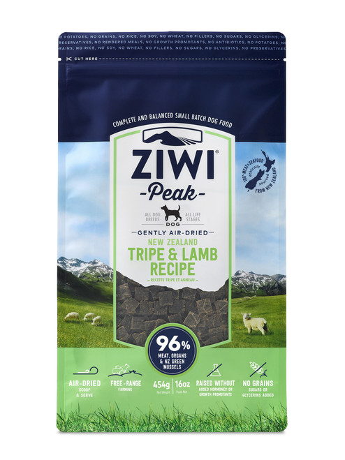 Ziwi Peak 16 oz Lamb and Tripe