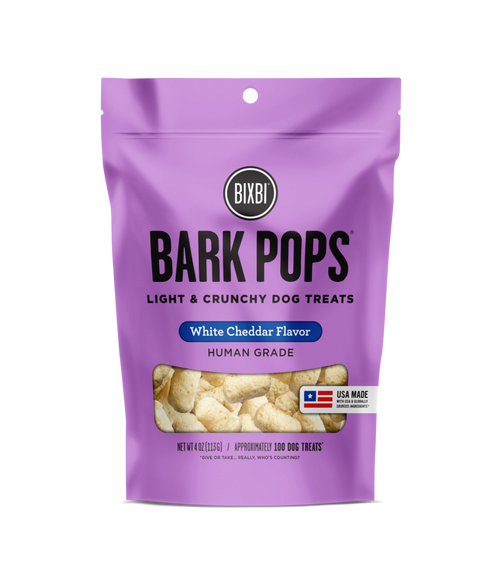 Bark Pops White Cheddar