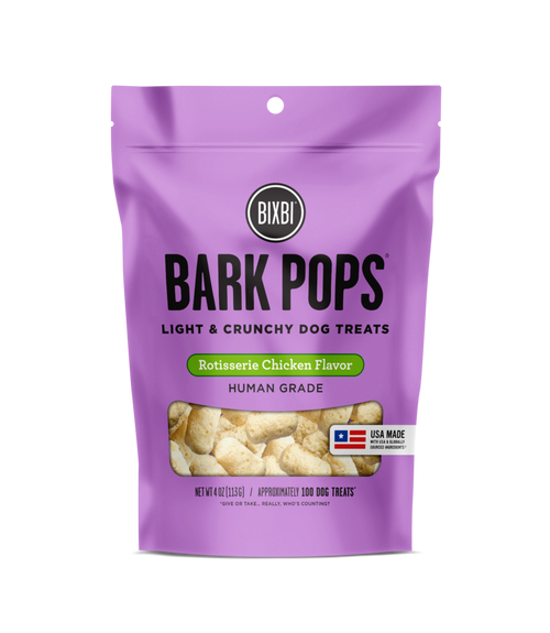 Bark Pops Rotisserie Chicken