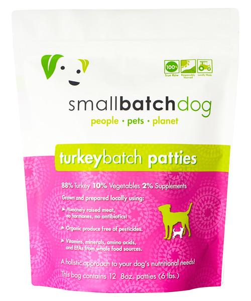 Small Batch Frozen Turkey Patties
