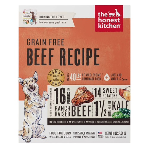 Honest Kitchen Grain Free Beef