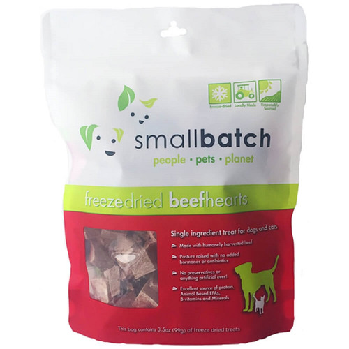 Small Batch Freeze Dried Beef Heart Treats