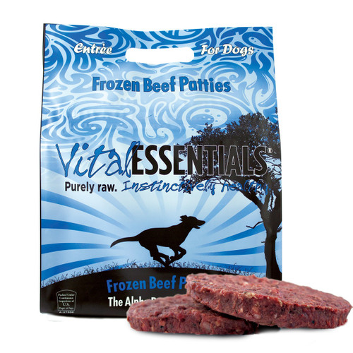Vital Essentials Dog Frozen Beef Patties