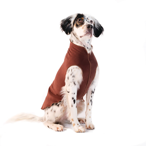 Gold Paw Series Stretch Fleece - Chestnut